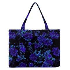 Floral Dreams 12 B Medium Zipper Tote Bag
