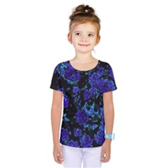 Floral Dreams 12 B Kids  One Piece Tee