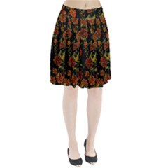Floral Dreams 12 C Pleated Skirt
