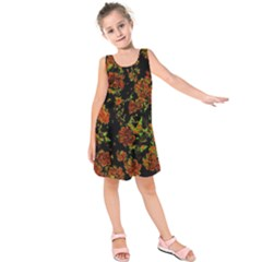 Floral Dreams 12 C Kids  Sleeveless Dress