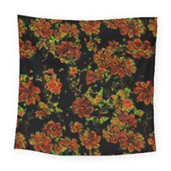 Floral Dreams 12 C Square Tapestry (large)