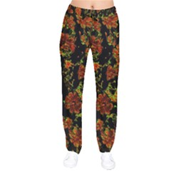 Floral Dreams 12 C Drawstring Pants