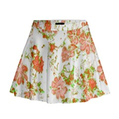 Floral Dreams 12 D Mini Flare Skirt