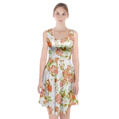 Floral Dreams 12 D Racerback Midi Dress