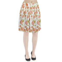 Floral Dreams 12 D Pleated Skirt