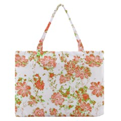 Floral Dreams 12 D Medium Zipper Tote Bag