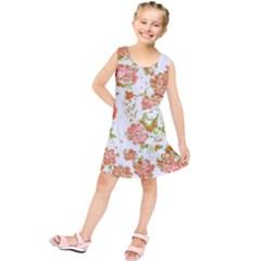 Floral Dreams 12 D Kids  Tunic Dress