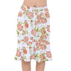 Floral Dreams 12 D Mermaid Skirt