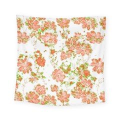 Floral Dreams 12 D Square Tapestry (small)