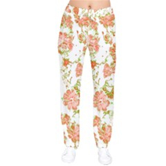 Floral Dreams 12 D Drawstring Pants