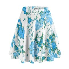 Floral Dreams 12 E High Waist Skirt