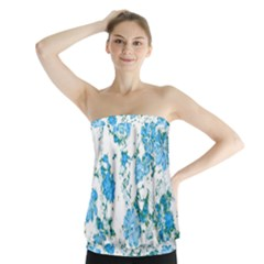 Floral Dreams 12 E Strapless Top