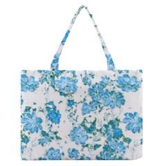 Floral Dreams 12 E Medium Zipper Tote Bag