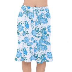 Floral Dreams 12 E Mermaid Skirt