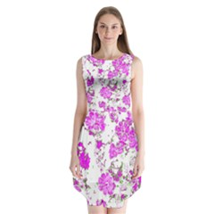 Floral Dreams 12 F Sleeveless Chiffon Dress