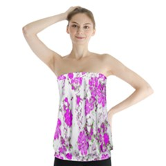 Floral Dreams 12 F Strapless Top