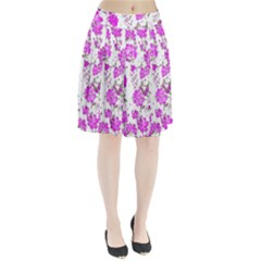Floral Dreams 12 F Pleated Skirt