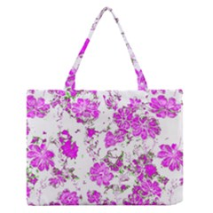Floral Dreams 12 F Medium Zipper Tote Bag