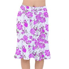 Floral Dreams 12 F Mermaid Skirt