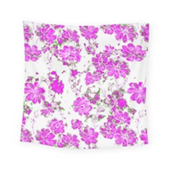 Floral Dreams 12 F Square Tapestry (small)