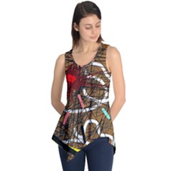 Art Sleeveless Tunic