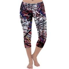 Art Capri Yoga Leggings