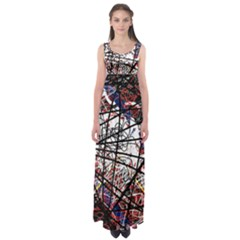Art Empire Waist Maxi Dress