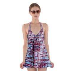 Art Halter Swimsuit Dress