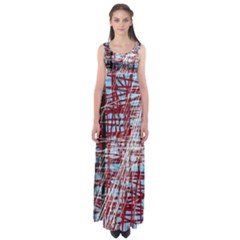 Art Empire Waist Maxi Dress