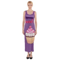Sweet life Fitted Maxi Dress