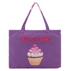 Sweet life Medium Zipper Tote Bag