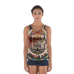 Colorful Mandala Women s Sport Tank Top