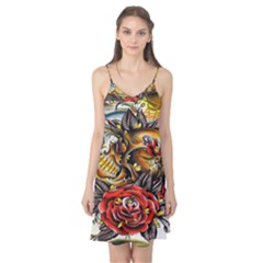 Flower Art Traditional Camis Nightgown