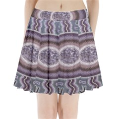 Spirit Of The Child Australian Aboriginal Art Pleated Mini Skirt