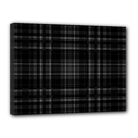 Plaid Design Canvas 16  X 12
