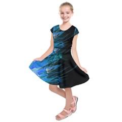 Fire Kids  Short Sleeve Dress