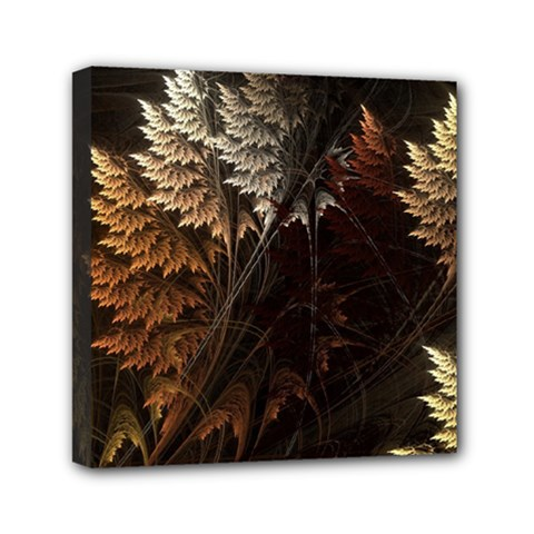 Fractalius Abstract Forests Fractal Fractals Mini Canvas 6  x 6