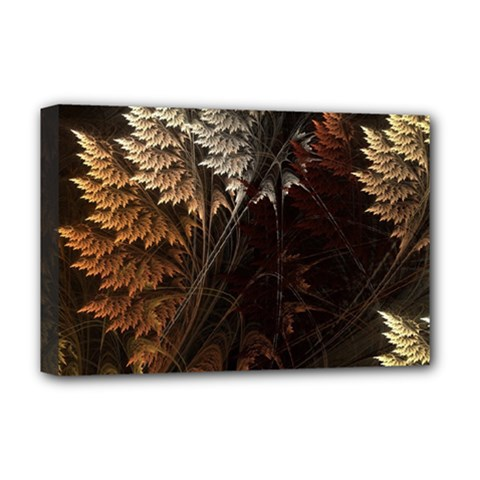 Fractalius Abstract Forests Fractal Fractals Deluxe Canvas 18  x 12
