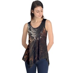 Fractalius Abstract Forests Fractal Fractals Sleeveless Tunic