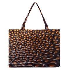 Digital Blasphemy Honeycomb Medium Zipper Tote Bag