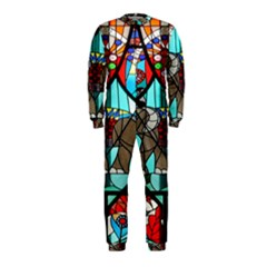 Elephant Stained Glass OnePiece Jumpsuit (Kids)