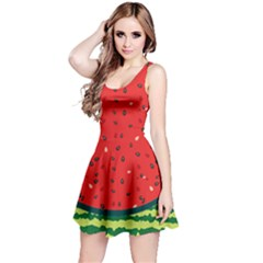 Red Watermelon Reversible Sleeveless Dress