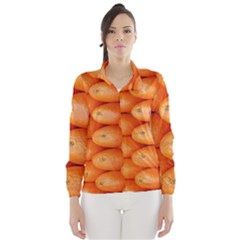 Orange Fruit Wind Breaker (Women)