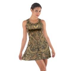 Art Indonesian Batik Cotton Racerback Dress