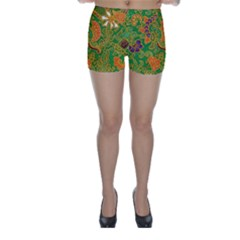 Art Batik The Traditional Fabric Skinny Shorts