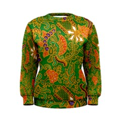 Art Batik The Traditional Fabric Women s Sweatshirt