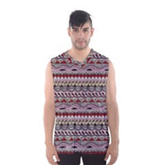 Aztec Pattern Art Men s Basketball Tank Top