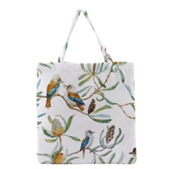 Australian Kookaburra Bird Pattern Grocery Tote Bag