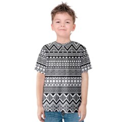 Aztec Pattern Design Kids  Cotton Tee