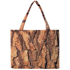 Bark Texture Wood Large Rough Red Wood Outside California Mini Tote Bag